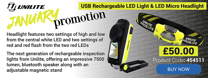 USB Rechargeable LED Light & LED Micro Headlight
