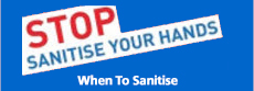 When To Sanitise