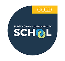 Supply Chain Sustainability School Gold Member