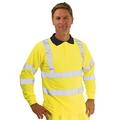 Keepsafe Hi Vis Sleeved Yellow Polo