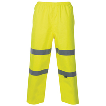 Hi Vis Yellow Breathable Over Trousers