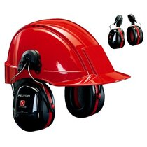 3M H540P3H-413-SV Optime III Ear Defend Helmet Attach SNR34