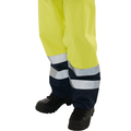 Hi Vis Yellow/Navy Blaze Tek Flame Retardant Trousers
