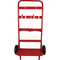 Fire Extinguisher Double Trolley
