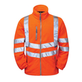 PULSAR® PR508 Hi Vis Orange Polar Fleece