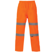 Hi Vis Orange Breathable Over Trousers