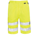 Hi Vis Shorts Yellow
