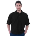 UCC003 Polycotton Unisex Polo Shirt 180g Black