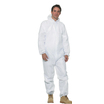 Keep Clean Disposable Coverall C/W Hood White