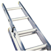Ladder Trade Aluminium 2 Section En131 2.5m - 3.82m