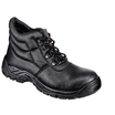 Black Four D Ring Safety Boot
