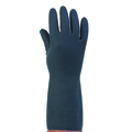 KeepSAFE Heavyweight Black Rubber Gloves