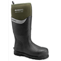 Buckbootz Bbz6000Gr S5 Green Safety Wellingtons