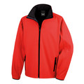 R231M Result Mens Printable Softshell 280g Red/Black