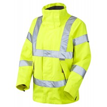 Ladies Traffic Jacket Yellow