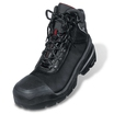 8401.2 Uvex Quatro Pro Extra Wide Fit Black Boot