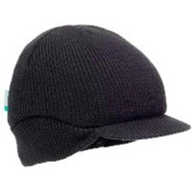 3M 2021182 HC23/BLK/BEA/RP BEANIE FIRST BASE BLACK BUMP CAP