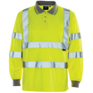 Hi Vis Yellow Bird Eye Polo