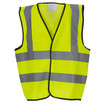 Hi Vis Childrens Vest Yellow