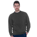 Unisex Grey Polycotton Sweatshirt 275g