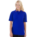 UCC004 Polycotton Unisex Heavyweight Polo Shirt 240g Blue
