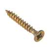CSK Pozi Zinc Yellow Pass Screws