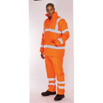 KeepSAFE  High Visibility Rail Breathable Road Safety Trousers