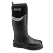 Buckbootz Bbz6000Bk S5 Black Safety Wellingtons