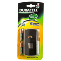 Fast Battery Charger Plug In C/W AA Batteries