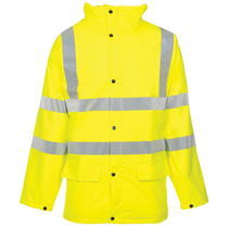 Hi Vis Exec Traffic Jacket Yellow