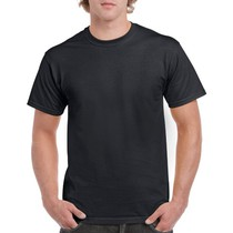 Gildan 5000 Mens Cotton T Shirt 185Gm Black