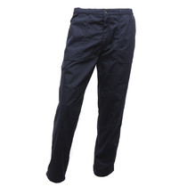Regatta Mens Lined Action Trousers (Long Leg) Navy