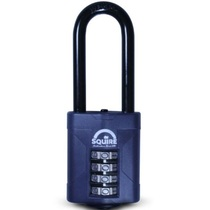 Squire CP50/2.5 50mm Extra Long Shackle Combination Padlock