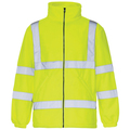 Hi Vis Fleece Jacket Yellow