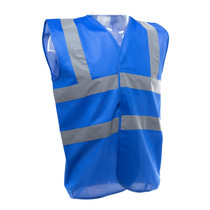 Hi Vis Vest Royal Blue
