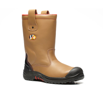 VR690 Grizzly Tan Fleeced Lined Rigger Boot
