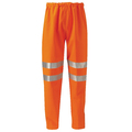 Hi Vis Orange Gore Tex Over Trousers