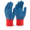 Blue Gripper Gloves