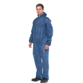 KeepCLEAN Disposable Coverall C/W Hood Blue