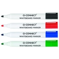 Q Connect Drywipe Marker Assorted Colours