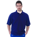UCC003 Polycotton Unisex Polo Shirt 180g Blue