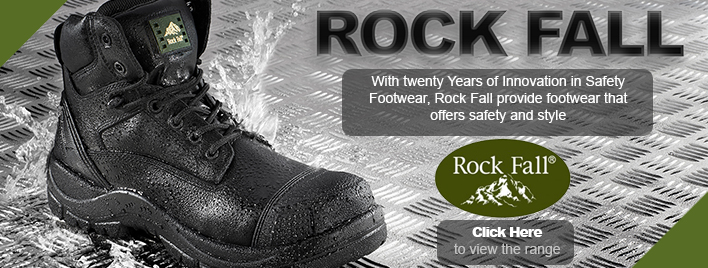 Rock Fall Safety Boots