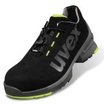 8544.8 Uvex One Mens Safety Trainer Black/Yellow S2 SRC