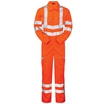PULSAR® PR339 Hi Vis Orange Combat Coverall