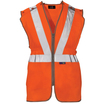 Hi Vis Rail Spec Orange Vest