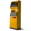 Spill Depot - 1 X Cabinet & 2 X Dispensing Units -Yellow