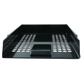 Q Connect Letter Tray Plastic Black
