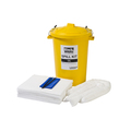 Emergency Oil Spill Kit For Upto 90Ltrs