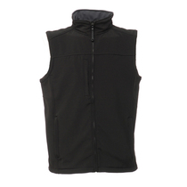 Regatta Flux Softshell Bodywarmer Black