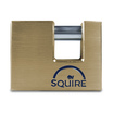 Squire WL3 90mm Solid Brass Warehouse Padlock